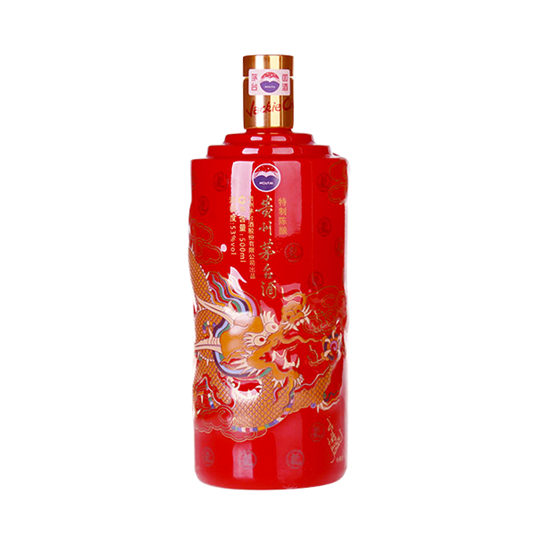 【藏酒网】贵州茅台酒 53度 茅台成龙珍藏 单瓶装500ml 2014年