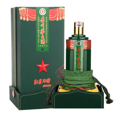 茅台 红星闪烁 16年 酱香型白酒 单瓶装500ml